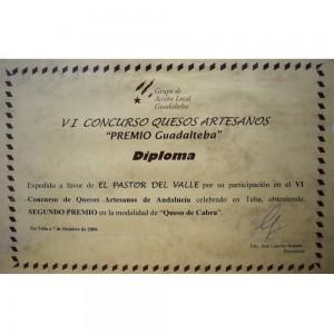 VI Premio Guadalteba cabra