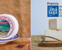 Nuestro queso fresco y nuestro curado de leche pasteurizada, ganadores de los premios Sabor a Málaga en su categoría