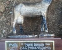 Nuestra ganadería, premiada en Agrogant 2016
